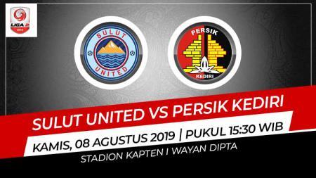 Pertandingan Sulut United vs Persik Kediri. - INDOSPORT