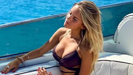 Michela Persico, kekasih Daniele Rugani yang juga seorang jurnalis - INDOSPORT