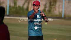 Indosport - Yogi Nugraha, pelatih fisik Bali United.