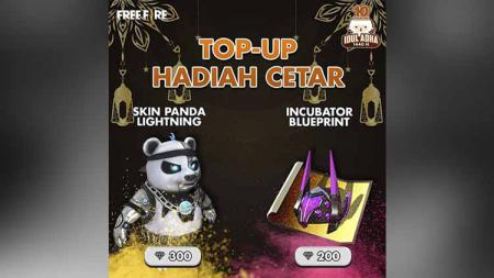 Skin terbaru Pet Panda di game Free Fire. Foto: Ig @freefirebgid - INDOSPORT