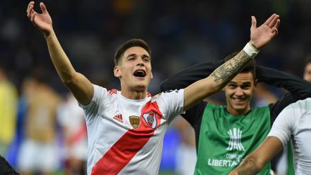 Lucas Martinez Quarta, pemain River Plate, real tolak pinangan klub besar untuk gabung AC Milan. - INDOSPORT