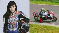 Indosport - Inka Putri Pratiwi, rider asal Bandung