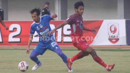 Situasi pertandingan PSIM Yogyakarta vs Martapura FC. - INDOSPORT