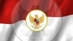 Indosport - Logo Garuda Timnas Indonesia.