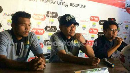 Konferensi pers Blitar Bandung United atau dikenal dengan Persib B. - INDOSPORT
