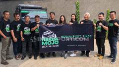 Indosport - Suasana Konferensi Pers Herbamojo Jelajah Alam Tempuh Jalur Ekstrim 1.200 KM.