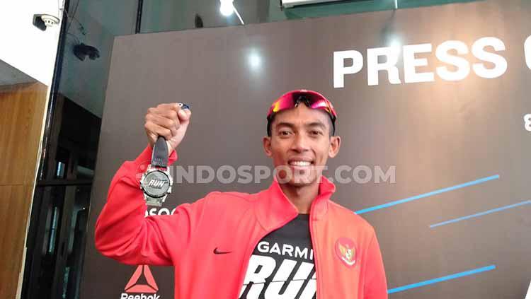 Agus Prayogo, atlet pelari nasional andalan Indonesia. Copyright: Shintya Anya Maharani/INDOSPORT