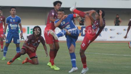Cristian Gonzales menjadi pahlawan kemenangan PSIM Yogyakarta saat mengalahkan Martapura FC di Stadion Mandala Krida, Kamis (08/08/19). - INDOSPORT