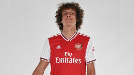 David Luiz kemungkinan bisa mengembalikan kans Arsenal berlaga di Liga Champions. - INDOSPORT