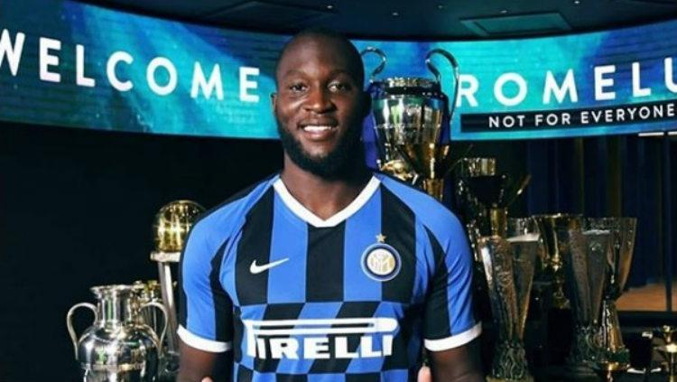 Romelu Lukaku resmi hijrah dari Manchester United dan bergabung dengan Inter Milan Copyright: Instagram/romelulukaku