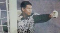 Indosport - Kiper andalan PSM Makassar di era 90-an Ansar Abdullah.