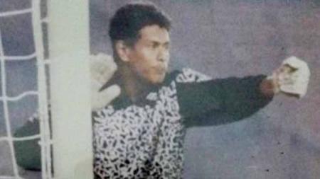 Kiper andalan PSM Makassar di era 90-an Ansar Abdullah. - INDOSPORT