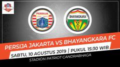 Indosport - Kejadian unik terjadi pada laga Shopee Liga 1 2019 antara Persija Jakarta vs Bhayangkara FC, Sabtu (10/08/19).