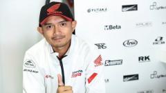 Indosport - Pembalap Moto2 asal Indonesia, Dimas Ekky Pratama, tampak tak sabar untuk pulih dan menunjukkan aksi kecenya di sirkuit.