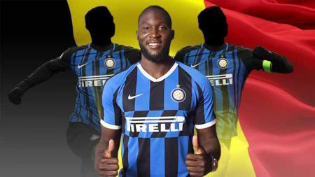 Pemain-pemain Belgia yang gagal di Inter Milan. Foto: Inter via Getty Images/kisspng.com - INDOSPORT