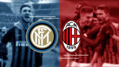 Indosport - Kombinasi Starting XI AC Milan vs Inter Milan.
