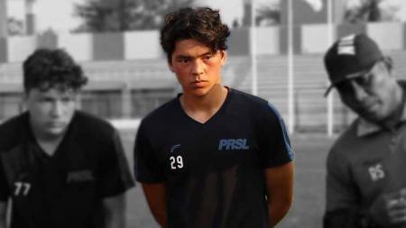 Pemain muda Jerman keturunan Indonesia, Kelana Noah Mahesa. - INDOSPORT
