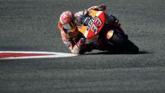 Indosport - Pembalap Repsol Honda, Marc Marquez masih menguasai puncak klasemen sementara MotoGP 2019.