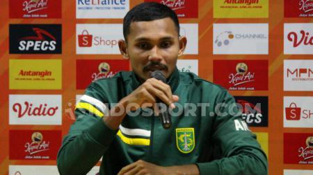 Andri Muliadi saat masih berseragam Persebaya Surabaya di Liga 1 2019, Sabtu (10/8/19). - INDOSPORT