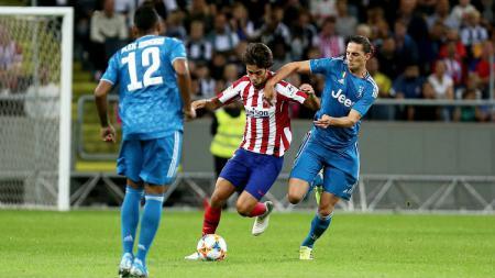 Aksi Joao Felix di laga ICC 2019 Atletico Madrid vs Juventus, Sabtu (10/08/19). - INDOSPORT