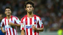 Indosport - Joao Felix berpeluang melakoni debut di kompetisi sepak bola LaLiga Spanyol ketika Atletico Madrid menjamu Getafe di Stadion Wanda Metropolitano, Senin (19/8/19) dini hari WIB.