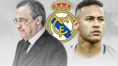 Indosport - Neymar dikabarkan telah setuju untuk bergabung ke Real Madrid