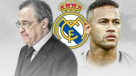 Real Madrid berencana untuk menawarkan tiga pemain sekaligus ke Paris Saint-Germain demi memuluskan langkah untuk membajak Neymar dari Barcelona. - INDOSPORT