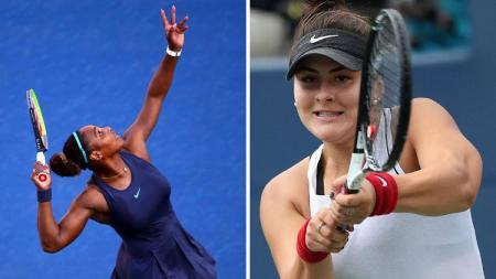 Serena Williams dan Bianca Andreescu akan bertemu di Semifinal Piala Rogers 2019 - INDOSPORT