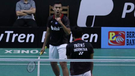 Muhammad Shohibul Fikri/Bagas Maulana juara di Hyderabad Open Super 100 2019. - INDOSPORT