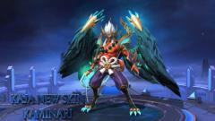 Indosport - Berikut build Kaja hero dengan role Fighter/Support di  game eSports Mobile Legends versi profesional player, RRQ.Lemon