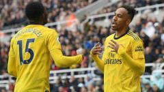 Indosport - Jelang laga Liga Inggris yang akan digelar pada tanggal 17 Juni mendatang, Pierre Emerick Aubameyang mulai menebar ancaman pada Manchester City.