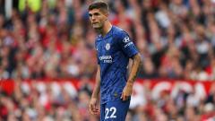 Indosport - Christian Pulisic mengaku Frank Lampard membuatnya merasa nyaman di Chelsea. Matthew Ashton - AMA/Getty Images.