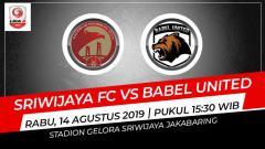 Indosport - Sriwijaya FC mengalahkan Babel United dengan skor 1-0 dalam lanjutan pekan ke-11 Liga 2 2019 pada Rabu (14/8/19).