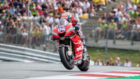 Bicara soal masa pensiun dari MotoGP, Andrea Dovizioso dinilai berbeda dari Valentino Rossi. - INDOSPORT