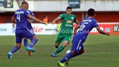 Indosport - Brian Ferreira pada laga melawan PSIS Semarang