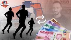 Indosport - Ilustrasi bursa transfer pemain Liga 1 2020.