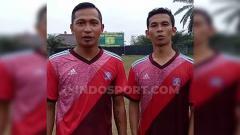 Indosport - Muba United FC resmi menggaet mantan pemain Sriwijaya FC, yakni Mahyadi Panggabean, Wijay, dan Fauzi Toldo.