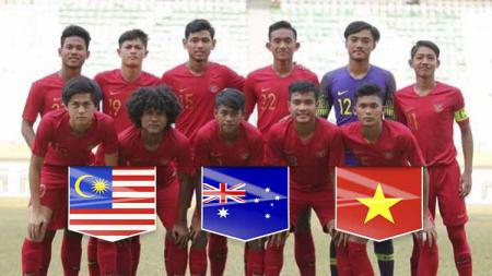 Skuat Timnas Indonesia U-18. Foto: Instagram/@sutanzicooo - INDOSPORT