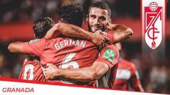 Indosport - Para Punggawa Granada saat berselebrasi.