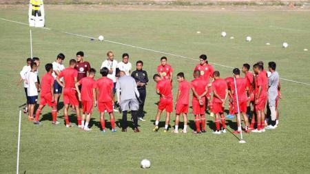 Official Training Barito Putera di Stadion Andi Mattalatta, Makassar, Selasa (13/08/19). - INDOSPORT