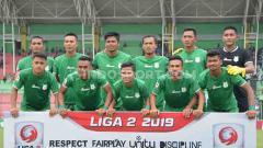 Indosport - Skuat PSMS Medan di Liga 2 2019.