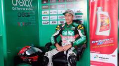 Indosport - Ali Adriansyah Rusmiputro pada turnamen Asia Road Racing Championship (ARRC) 2019 putaran kelima yang diselenggarakan di Sirkuit Internasional Zhuhai, China pada 9 – 11 Agustus 2019.