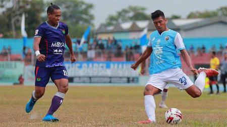 Duel pertandingan Persita vs Blitar di Stadion Depati Amir pekan 10 Liga 2 2019. - INDOSPORT