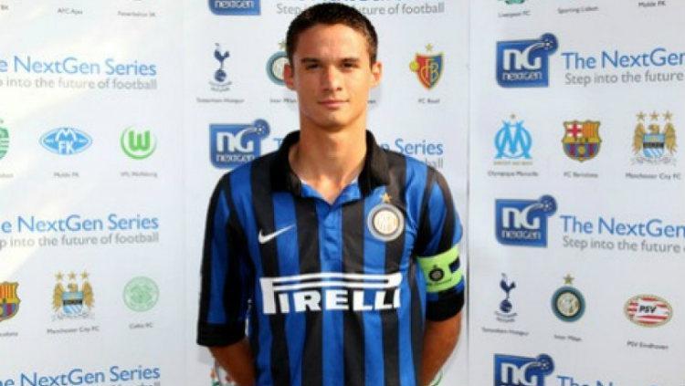 Andrea Romanò, salah satu pemain muda Inter Milan yang berstatus bebas transfer Copyright: cuneodice.it/