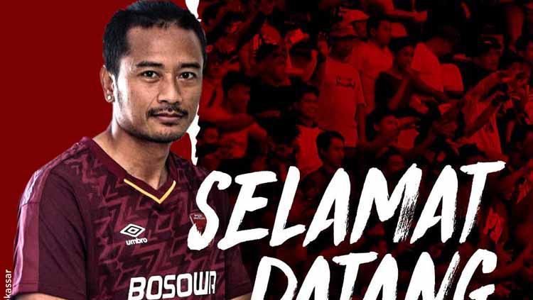 Hery Prasetyo kiper PSM Makassar Copyright: PSM Makassar