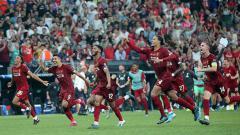 Indosport - Kans Liverpool menjadi juara Liga Inggris 2019-2020 meningkat menjadi 99 persen usai Manchester City ditahan imbang Crystal Palace