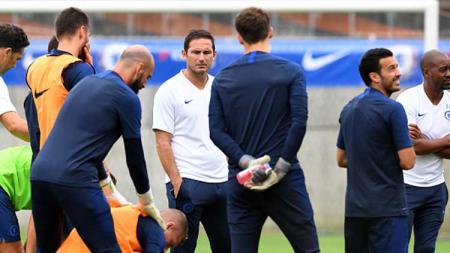 Chelsea akan menghadapi tim kejutan, Burnley di pekan ke-10 Liga Inggris, Sabtu (26/10/19). Sejumlah pemain terasingkan pun layak mendapatkan kesempatan dari Frank Lampard. - INDOSPORT