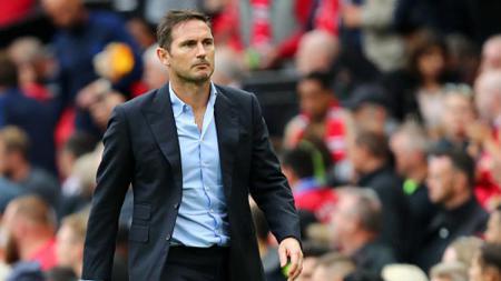 Pelatih Chelsea Frank Lampard, membocorkan pemain kunci The Blues yang bakal absen menjelang pertandingan Piala FA 2021 melawan Luton Town di Stamford Bridge. - INDOSPORT