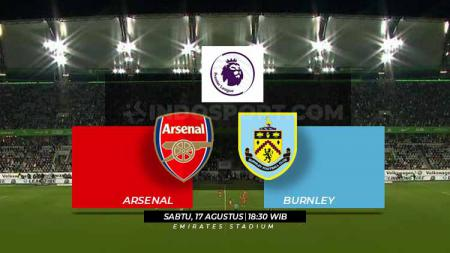 Link Live Streaming Pertandingan Liga Primer Inggris Arsenal vs Burnley - INDOSPORT