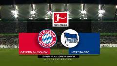 Indosport - Prediksi Bayern Munchen vs Hertha BSC Bundesliga Jerman 2018/19.